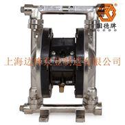 不銹鋼316 3/8寸第三代氣動隔膜泵邊鋒泵業