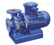 威王ISW型卧式管道泵