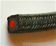 DH-420YS含油黑四氟硅胶芯盘根