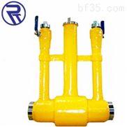 戎钛厂家供应燃气安装排气直埋式全焊接球阀
