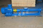 G型污泥螺杆泵,厂家制造单螺杆泵