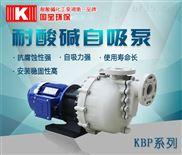 國寶耐酸堿pvdf自吸泵,污水提升泵,遇見Z干凈的你