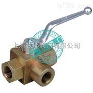 KHB3K-上海液压二位三通球阀