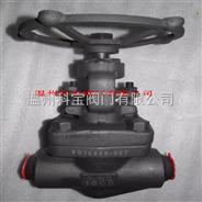 11.0MPa G/RC 1寸600LB内螺纹锻钢闸阀