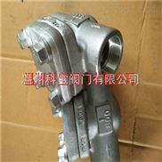 11.0MPa 316L G/Rc 600LB內螺紋鍛鋼止回閥
