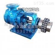 沧州永诚泵业NYP高粘度转子泵产品应用优势