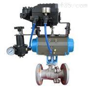 Q641F型气动O型调节球阀PN16~PN25
