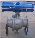 BV7-气动法兰耐高温球阀DN100