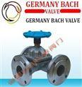 进口三通隔膜阀-德国BACH工业制造