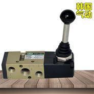 SVFM350-02-60D换向气动阀2位5通手动扳阀