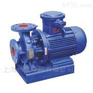 州泉 ISWB40-160卧式单级单吸防爆管道油泵