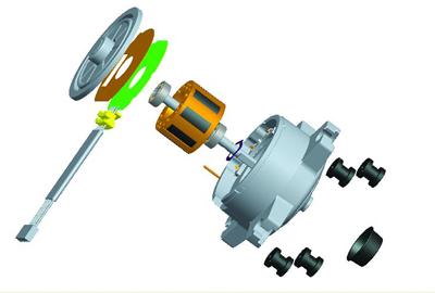 结构优化,空调直流电机迎来发展新契机图片